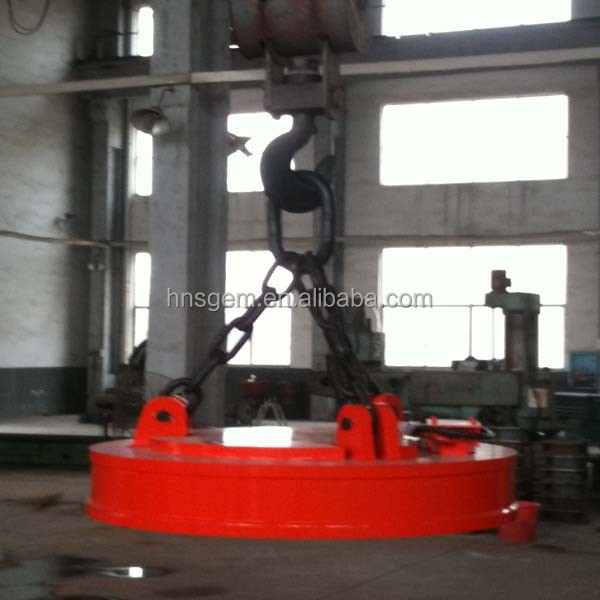 Electro Lifting Magnet Machine for Iron Material