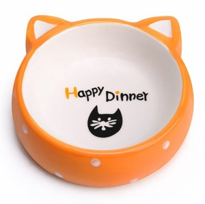 Pet Food Bowl And Other Small Pets Eat Ceramic Dog Bowl