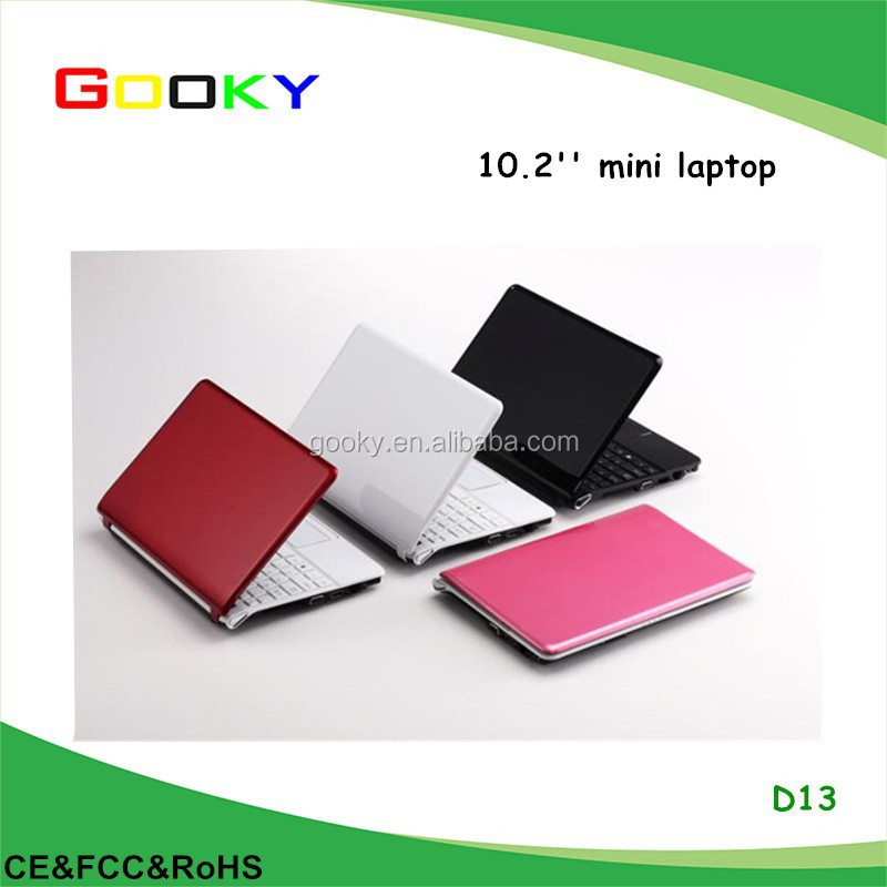Kids mini laptops intel ATOM hard drive 750gb 10 inch netbook cheap price