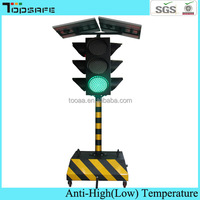 smart solar portable traffic light