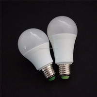 Aluminum+plastic LED e27 b22 e14 base high quality lamp 7W