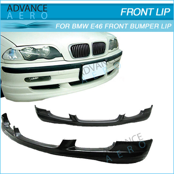 For Bmw E46 4dr Bodykit Poly Urethane Front Lip Body Kit Pu Euro Style Bodykits 1999 2000 2001 2002 2003 2004 Buy For Bmw E46 4dr Front Lip Body Kit