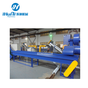 Recycling plastic pet-fles crusher machine/afval plastic recycling lijn