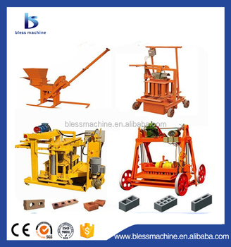 10% discount manual brick making machine for sale with exhibited at Canton fair