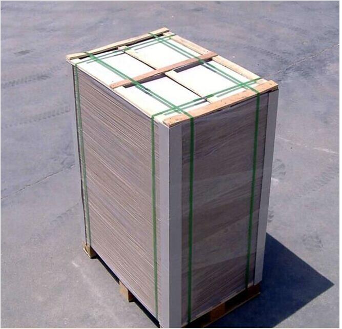Hard stiff mm laminated furniture liner grey paper board