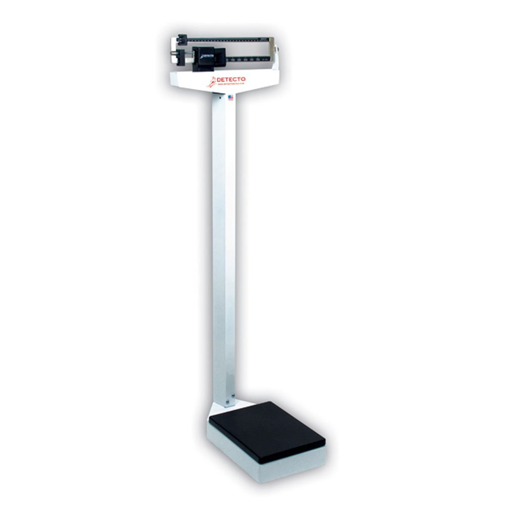 Get Quotations · Fabrication Detecto Eye-level scale - 337 Analog Beam  Scale 400 lb/175 kg