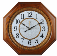 Wooden Modern Look Reproduction Antique Look Wall Clock