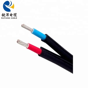 Stranded Tinned Copper Wire PVC Insulation Sheath Customized Solar Cable 4mm2
