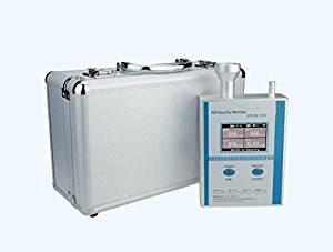 JIAWANSHUN 6-in-1 Air Quality Monitor PM1.0/PM2.5/PM10/HCHO/Humiduty/Temp Detection