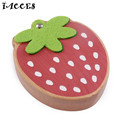 Baby Tooth Box Cute Strawberry Wooden Building Toys Baby Save Milk Teeth Wood Storage Box Great