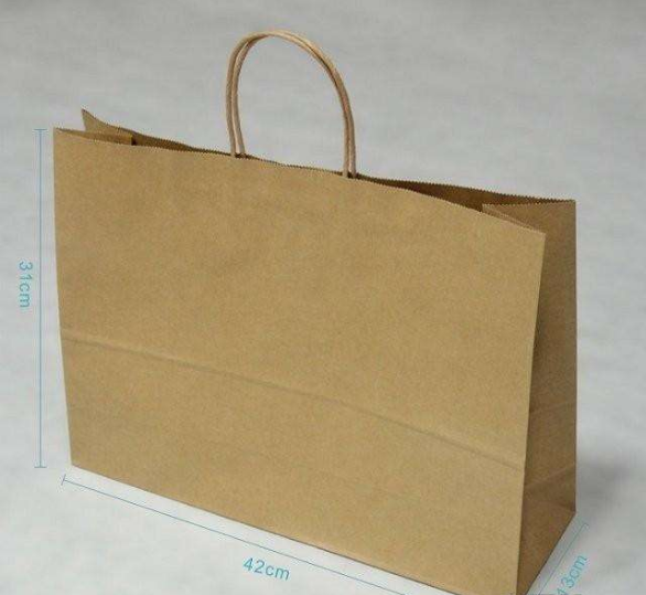Shopping bag with Handle Shopping Durable Reusable Merchandise Retail Bags