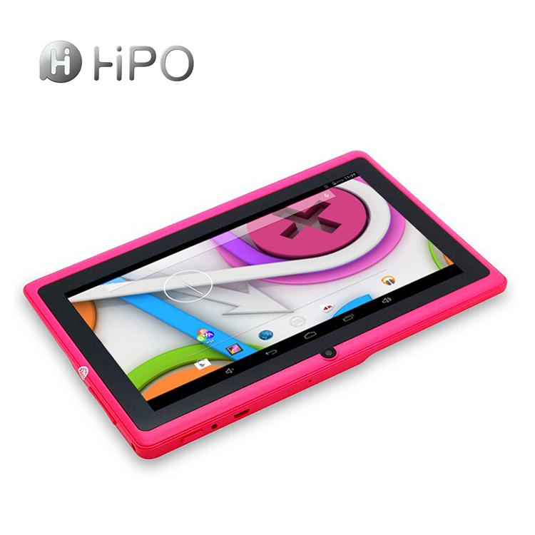 PC da tabuleta de Android 4.4 WIFI BT do núcleo do quadrilátero de Hipo 7inch A33 com preço barato