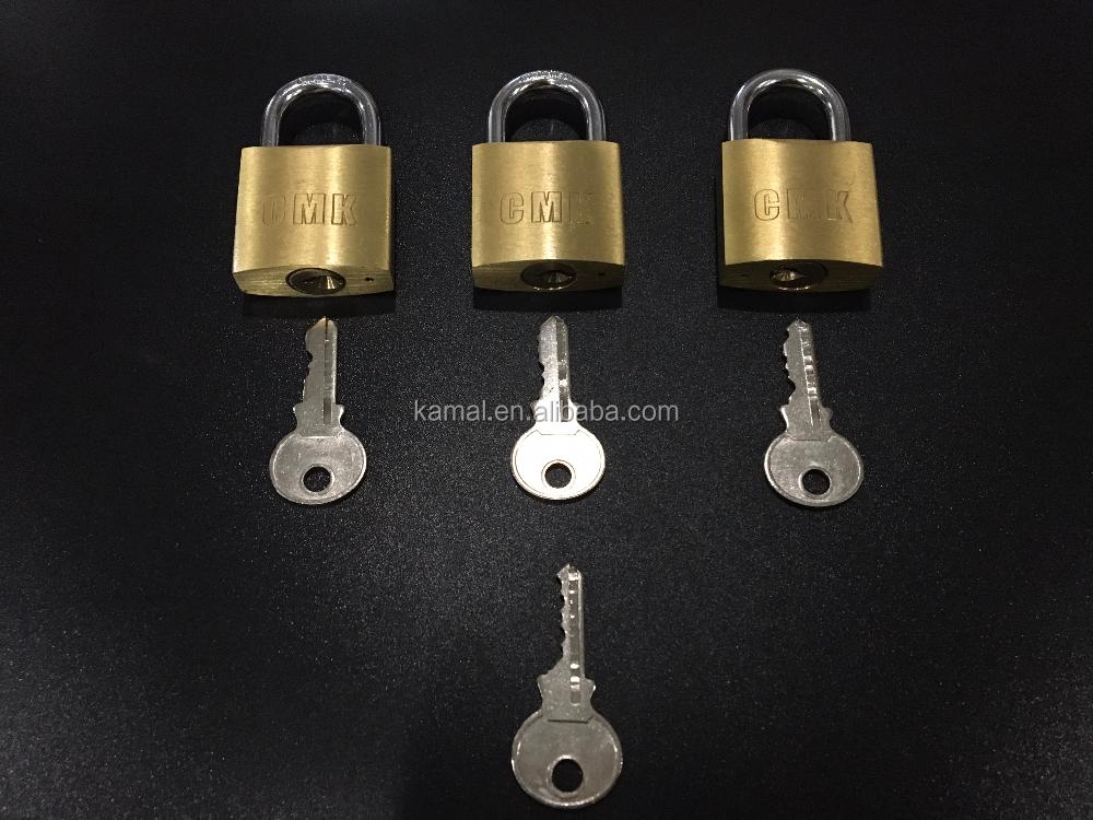 30mm Master Key Brass Padlocks