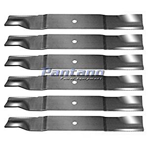 """Set Of 6 60"""" Lawn Mower Hi-Lift Blades Replaces Gravely Ariens 09081200 __#G451YH4 51IO3404848"""