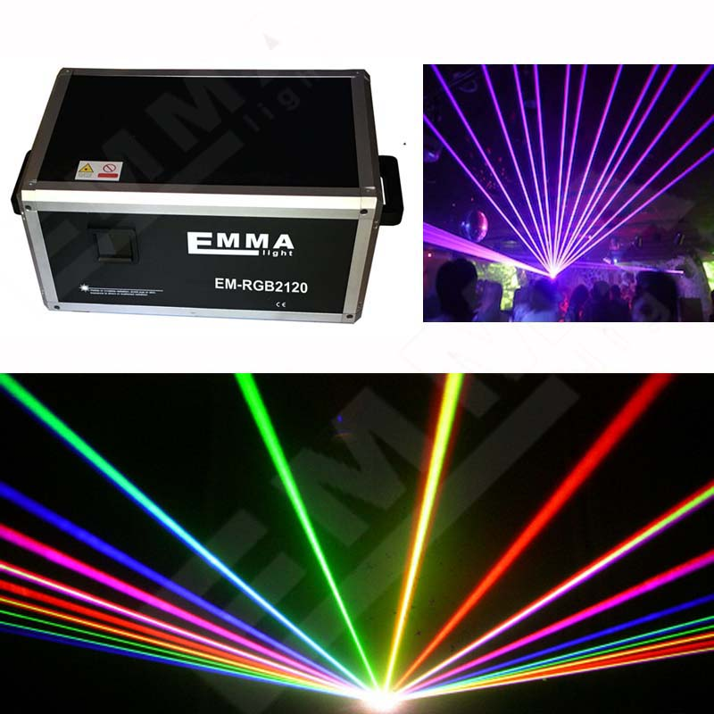 new 2017 RGB 12W DMX512 Laser Stage Lighting Scanner 3D effect light projector DJ Disco Party Xmas Lights Show Digital DMX