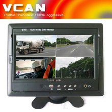 TM-7003Q car lcd monitor quad image with 7 inch TFT LCD screen