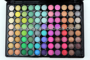 Cosmetic base smoked eyeshadow powders