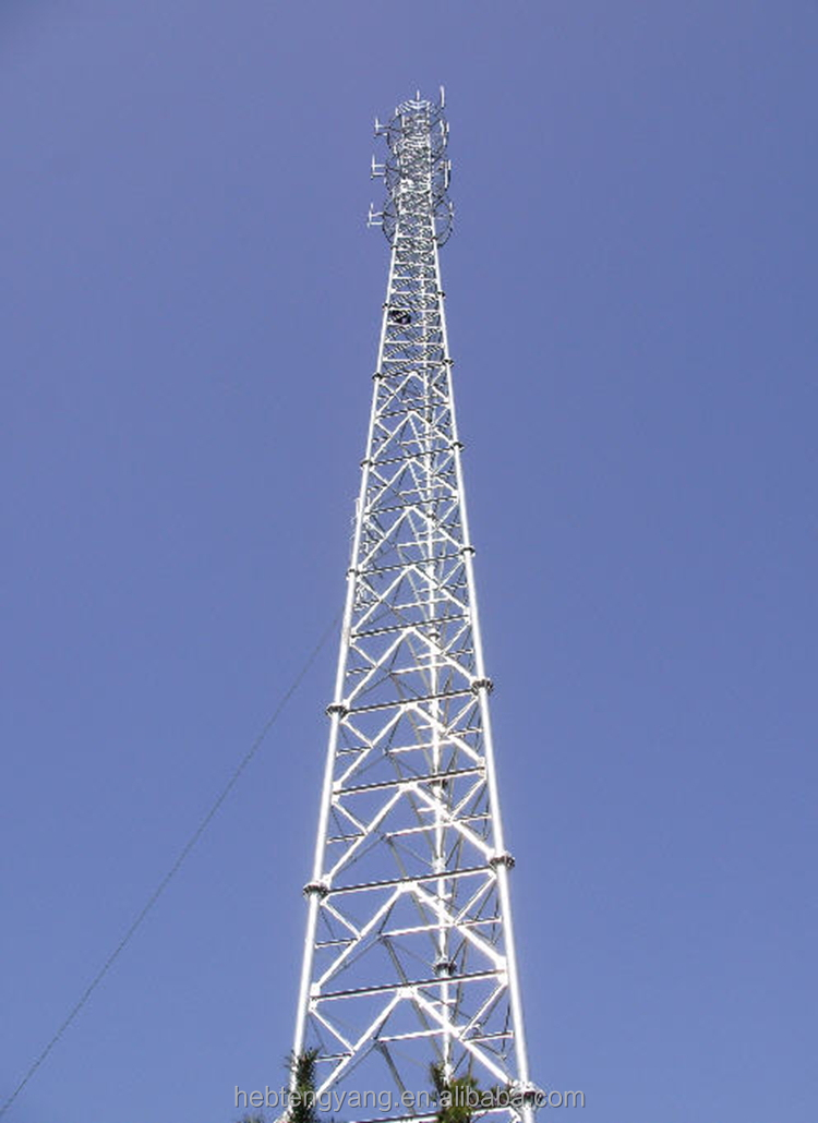 how to raise a antenna mast