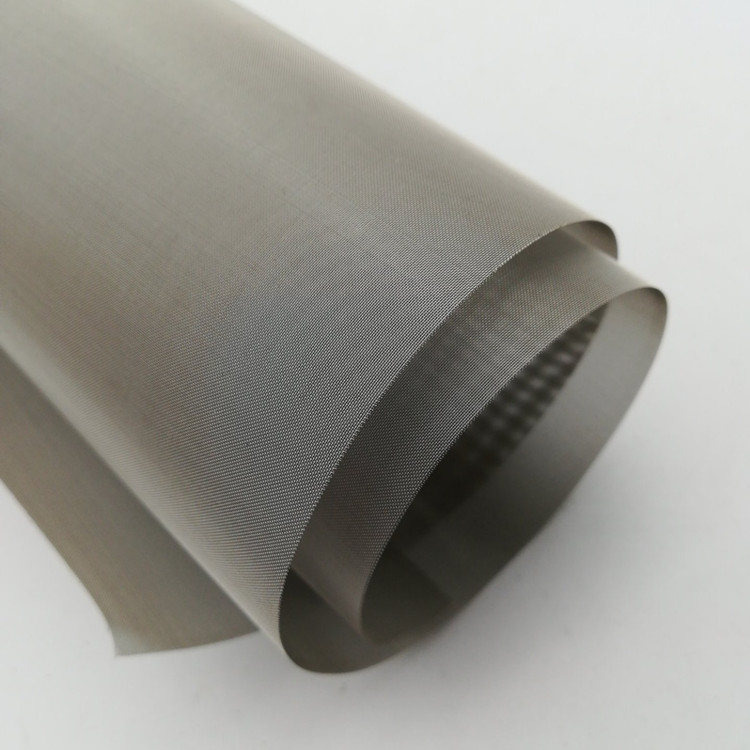 Rich high temperature resistance pure tungsten woven wire mesh for filter chemical industry