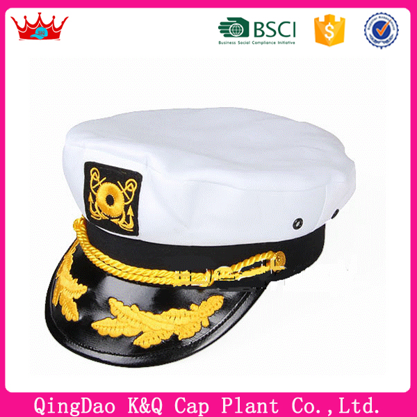 For Sale Customized Fashionable Military Sailor Hats