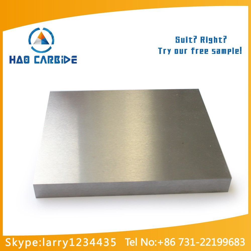 hard alloy tungsten carbide rectangular flats