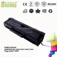 Office Supplies ML-1666 Toner Cartridge for SAMSUNG ML-1660/1661/1665/1666 (PTMLT-D104S)