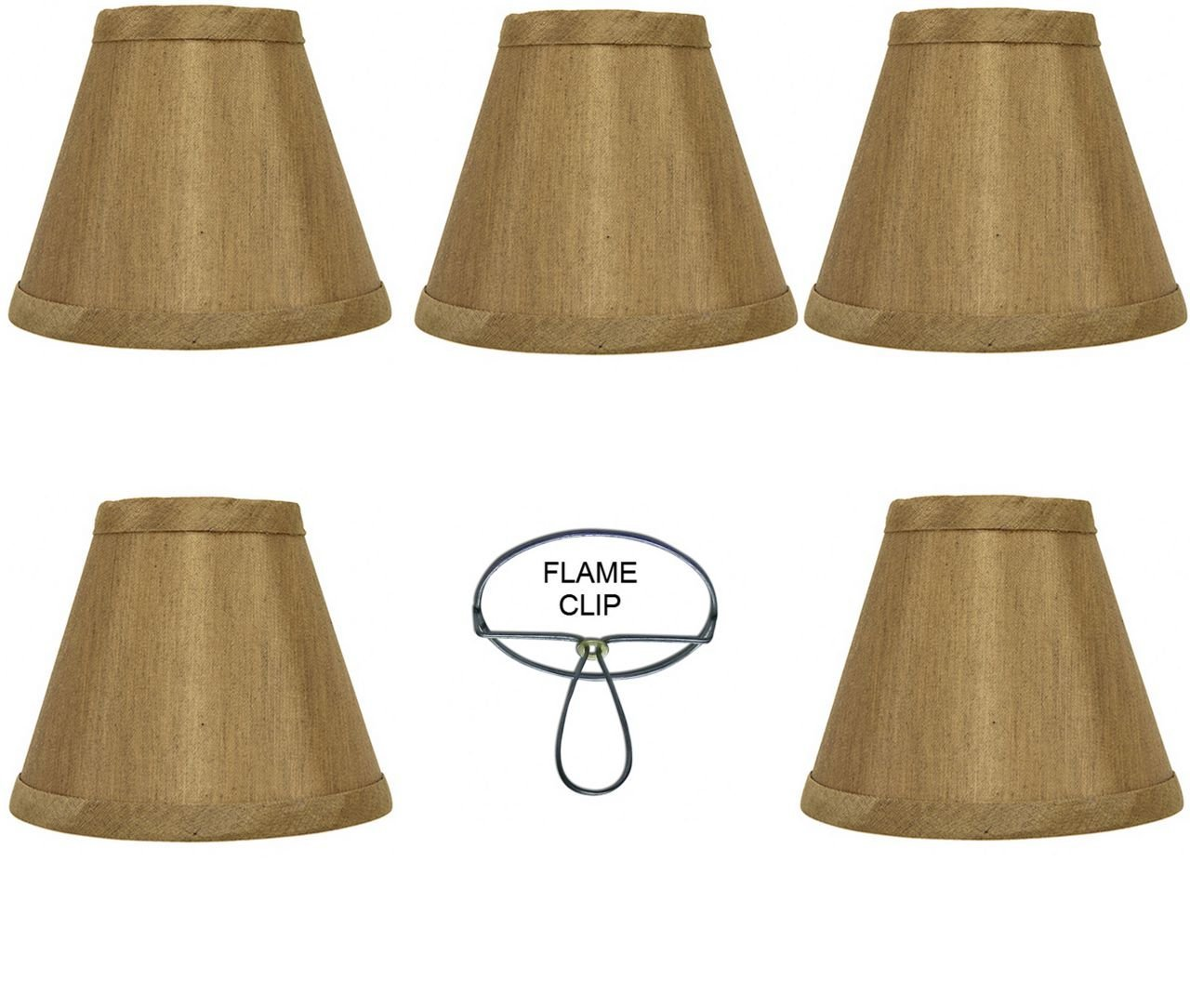 Cheap gold lamp shades find gold lamp shades deals on line at get quotations mini chandelier shades clip on small lamp shades set of five rich antique gold bronze aloadofball Choice Image