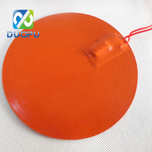 24v Flexible silicone rubber heater with resistant