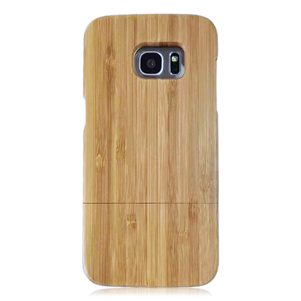 2017 alibaba hot selling wood cell phone case blank wood phone shell protective phone covers for Samsung S7 Edge