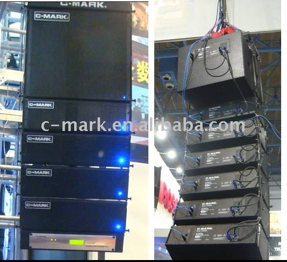"2 X 5"" Mini Active Line Array C-mark M25a"