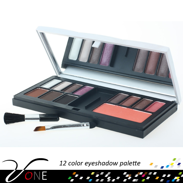 Fashion fair cosmetics 12 colors eyeshadow palette wholesale
