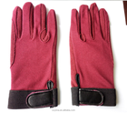 New ! high quality pure cotton horse riding glove for adult and children/equestrian products