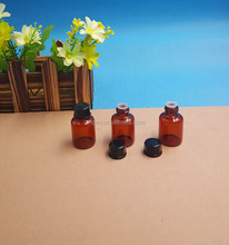 6ML Amber Glass Vial with Flip off Cap and Butyl Rubber Stopper, pharmaceutical Bottles