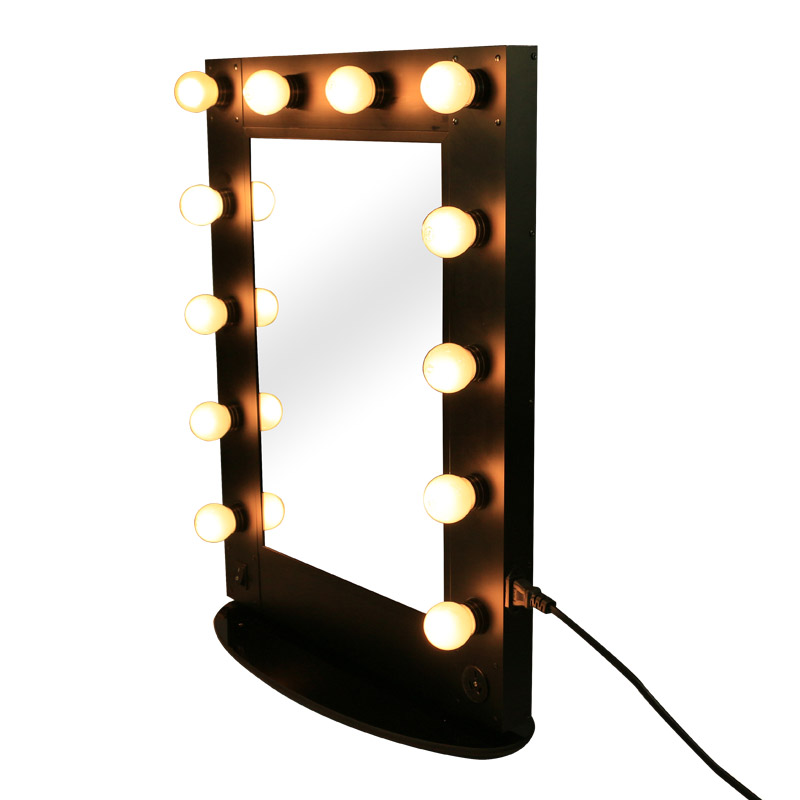 Professionnel beaut dimmable led hollywood style miroir for Miroir hollywood