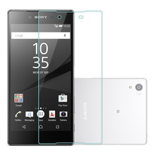 free shipping Premium 0.26mm 9H Tempered Glass Film Explosion Proof Screen Protector For Sony Xperia Z1MINI Z3MINI M2 M4 M5