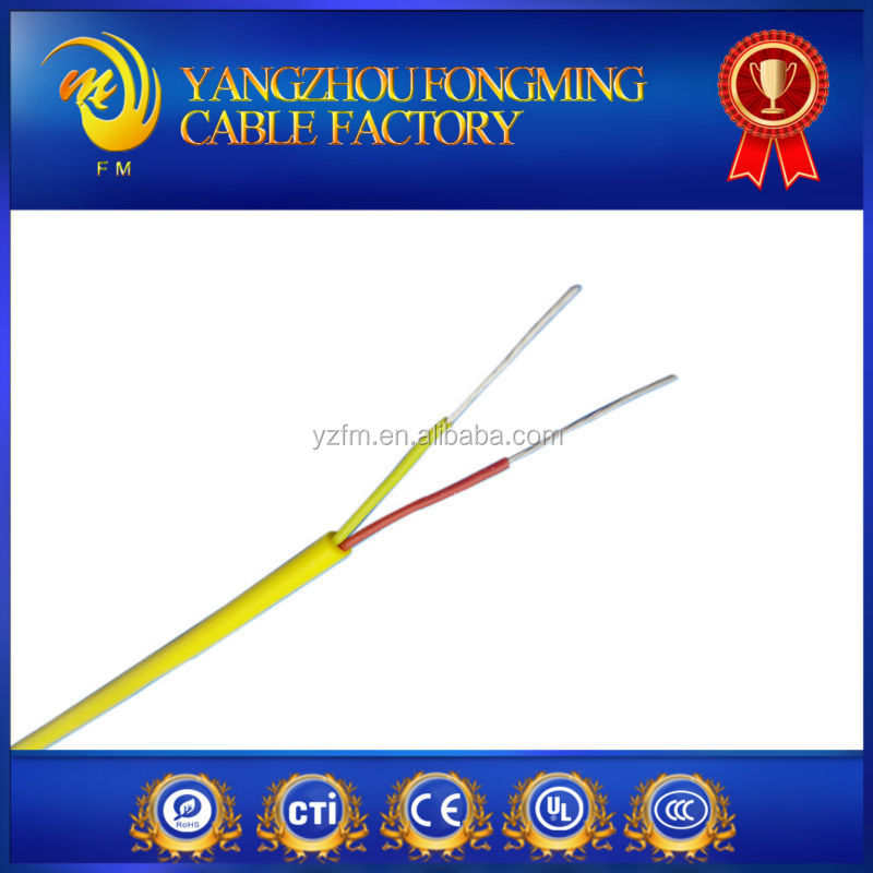 K type stranded conductor 0.75mm2 high temperature thermocouple cable wire