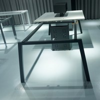 Guangzhou factory hot sale steel metal iron office desk table furniture frame
