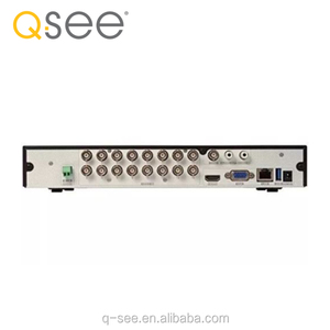 Q-SEE Brand Best selling AHD/Analog/CVI/TVI Video input 16 channel DVR New  Product hybrid cms H 264 1080P DVR