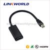 Linkworld active or passive mini displayport to hdmi adapter for laptop