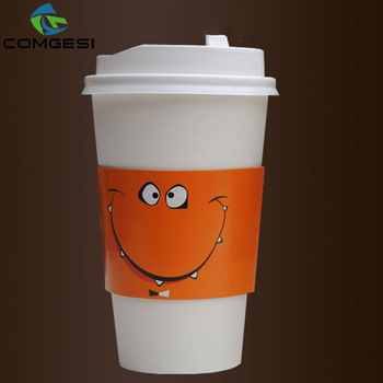 a28473d0c68 wholesale bulk custom logo color double single style hot cold set paper  coffee cup with sleeve