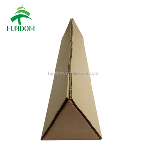 china flower box company made post corrugated carton flower box for shipping