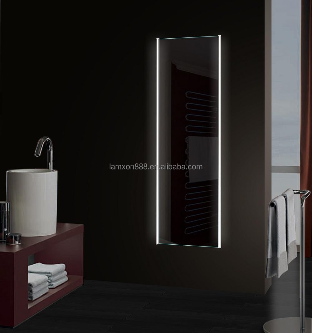 Led miroir dressing pour vestiaire de haute qualit pleine for Miroir longueur