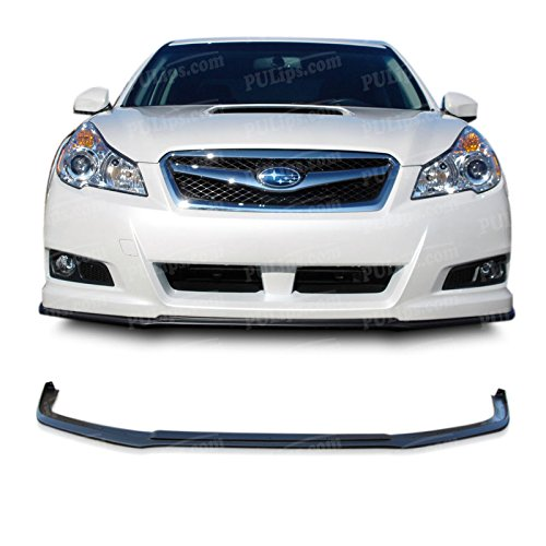 PULIps SULG10STIFAD - V-Limited Style Front Bumper Lip For Subaru Legacy 2010-2012