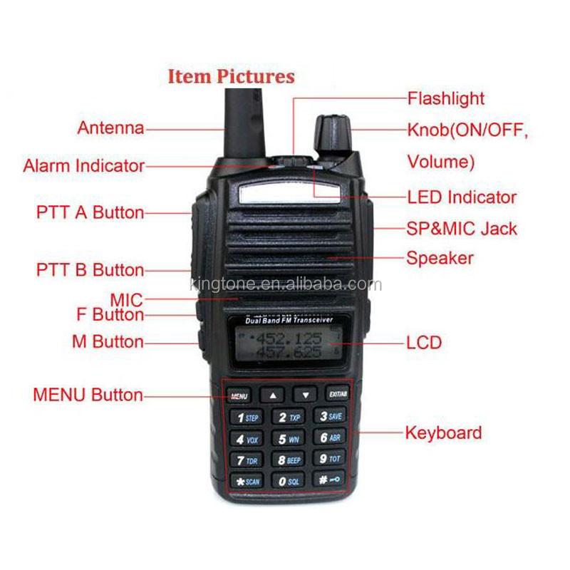 Baofeng UV-82 encrypted two way radios Baofeng walkie talkie two way radio  police uv-82 handheld two way radio, View police handheld two way radio