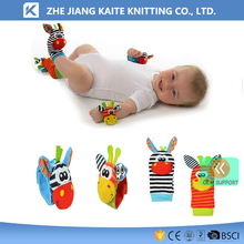 KTP-3597 infant baby toy rattle socks