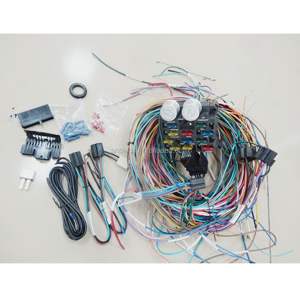 Universal Wiring Harnesses Suppliers And Harness Wire Manufacturers At