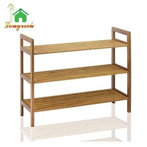 cheap homemade outdoor popular living room bedroom custom bamboo shoe rack