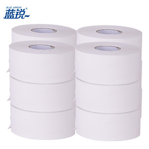 Factory Wholesale Jumbo Toilet Paper Tissue Rolls Blue Arrow 900g for Commercial Use