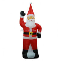 Newest sale OEM quality inflatable santa claus decorations with good prices