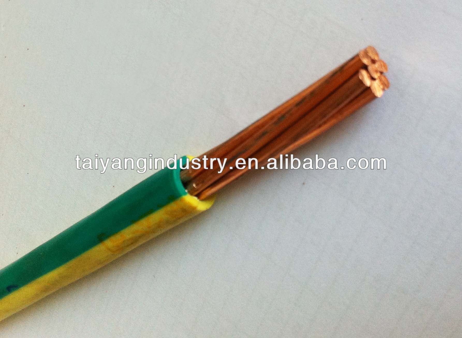 H07v-r Pvc Insulated Electric Wire And Cable 16mm--green/yellow Wire ...